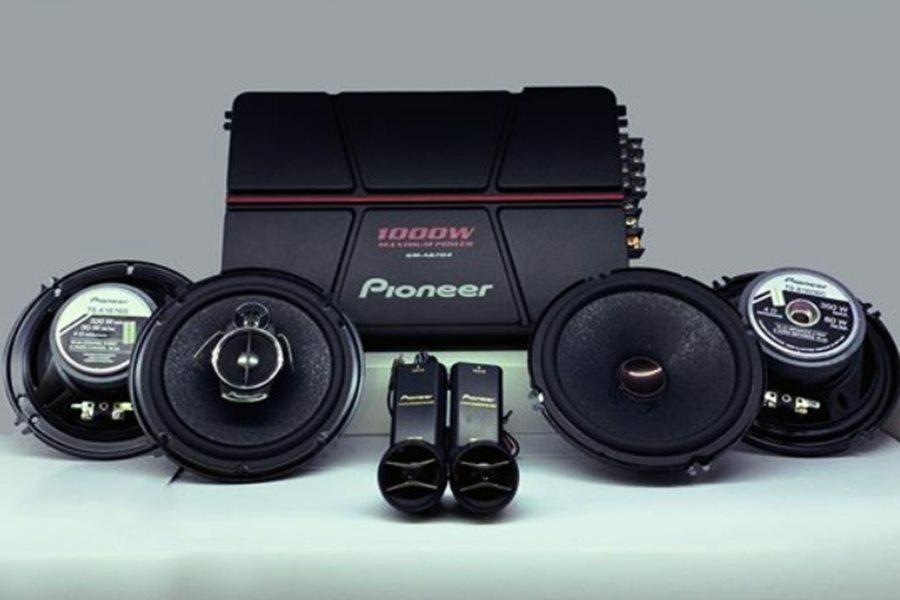 COMBO loa Pioneer A1606C-A1676S Amply A6704 - Hình 1