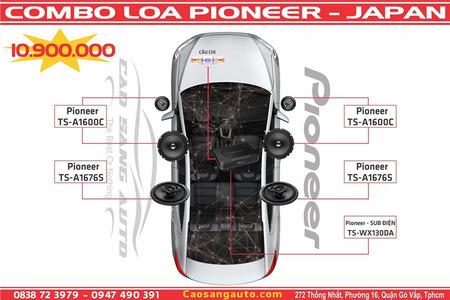COMBO LOA PIONEER - NHẬT
