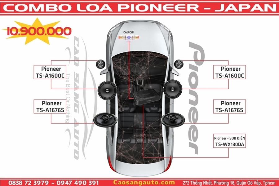 Combo 7 loa đến từ thương hiệu Pioneer