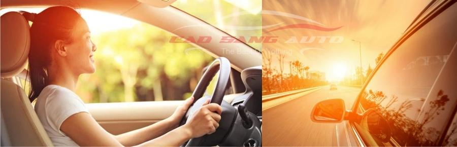 Dán phimc cách nhiệt loại tốt sẽ bảo vệ sức khỏe và nội thất xe hiệu quả