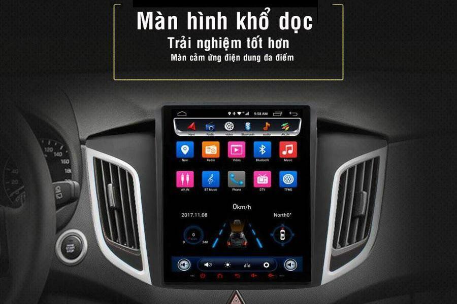 Đầu DVD Android ô tô Ownice C600 kiểu Tesla