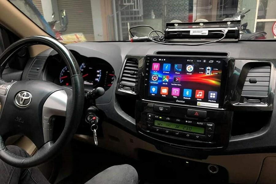 Đầu màn hình DVD Android ô tô tại Cao Sang Auto