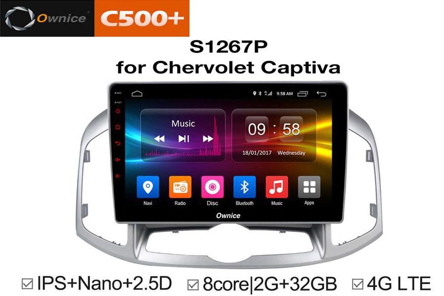 Đầu DVD Android xe hơi Ownice C500 Plus - Hình 2