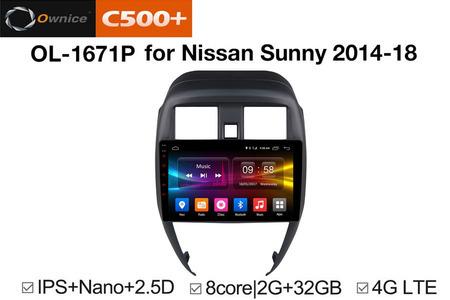 Đầu DVD Android xe hơi Ownice C500 Plus - Hình 3