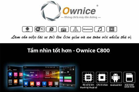 Đầu DVD Android xe hơi Ownice C800 (DSP 6 kênh) - Hình 3