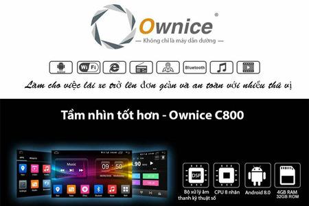 Đầu DVD Android xe hơi Ownice C800 Pro (DSP 8 kênh) - Hình 4
