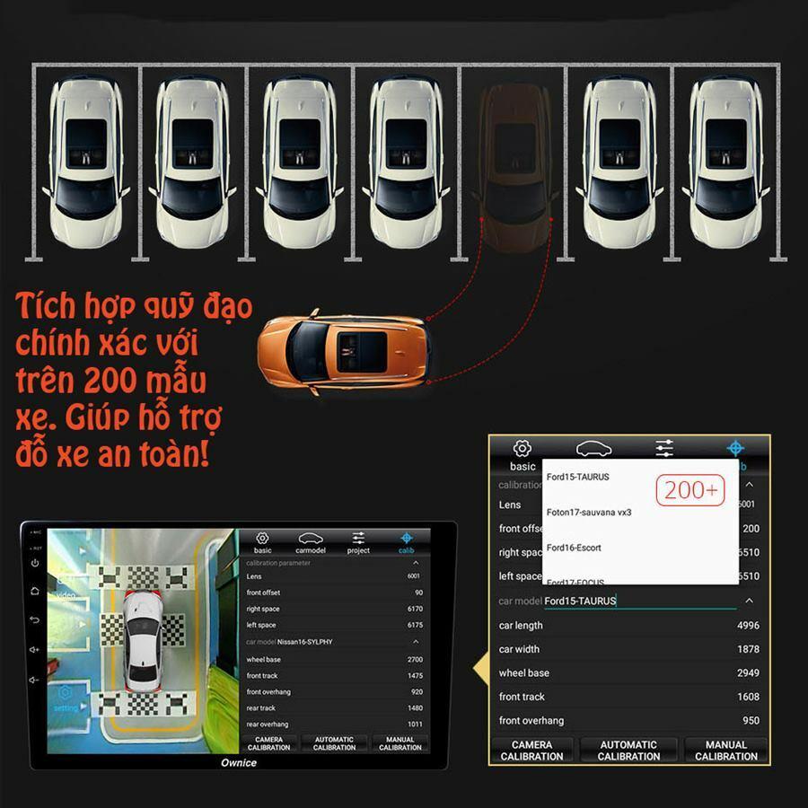 Đầu DVD Android xe hơi Ownice C900 (tích hợp Camera 360 độ)