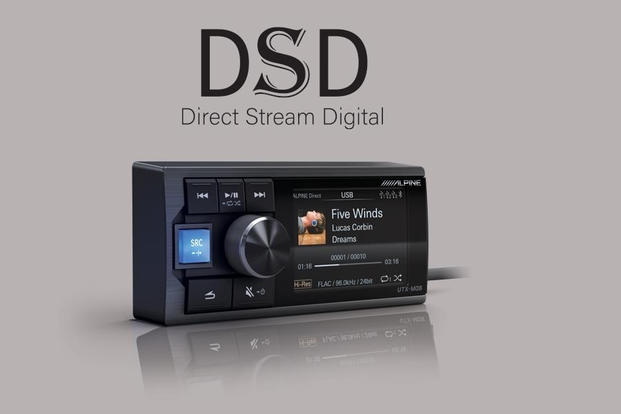 Có thể phát nhạc với file DSD