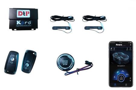 Chìa khóa thông minh Karpro | Smartkey Kia Morning - Hình 2