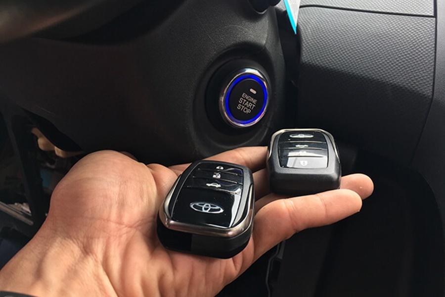 Khởi động bằng nút bấm Start Stop Button