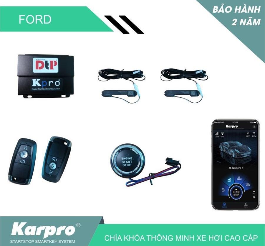 Smartkey Karpro Mẫu Chìa Mới Nhất Cho Xe Ford