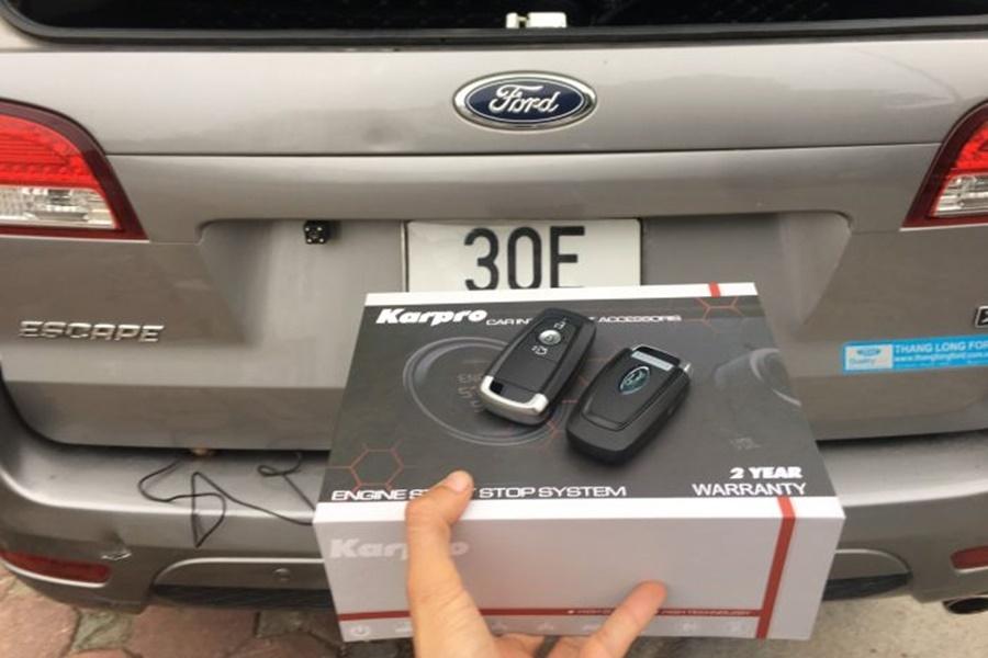 Ford Escape nâng cấp khóa Karpro mẫu mới 2020