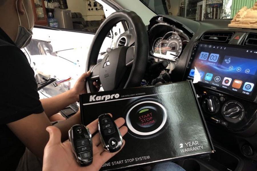 Độ Khóa Thông Minh Ô tô Karpro | Smartkey Mitsubishi Xpander - Hình 2
