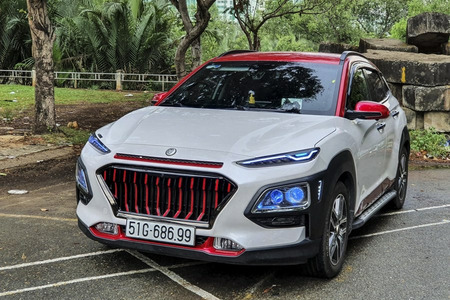 Độ mặt Calang thay đổi diện mạo cho xe ô tô - Phụ kiện xe ô tô - Hình 3