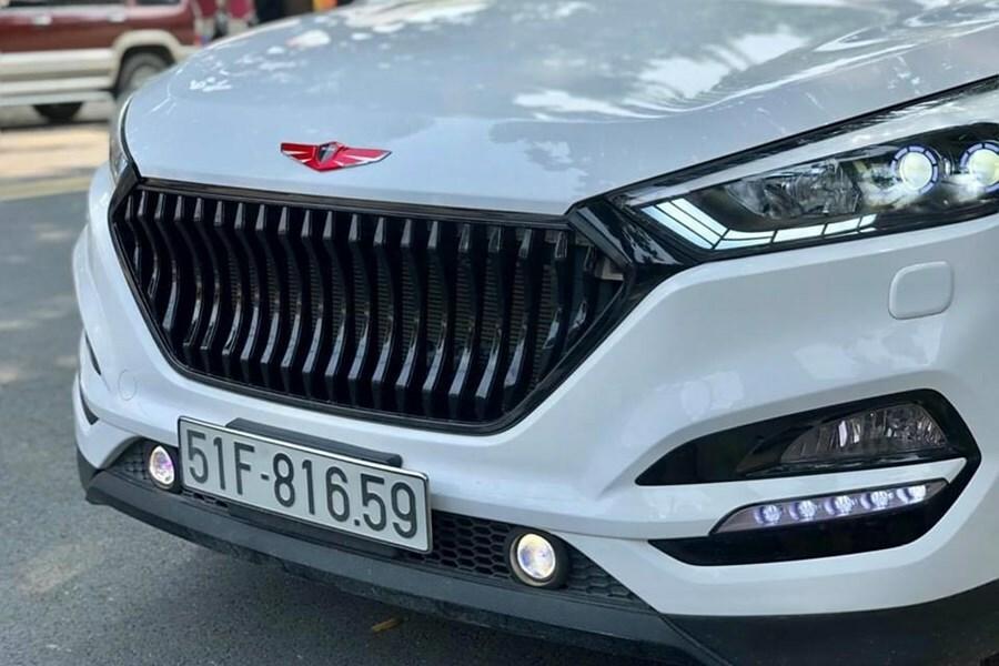 Độ mặt Calang thay đổi diện mạo cho xe ô tô - Phụ kiện xe ô tô - Hình 5