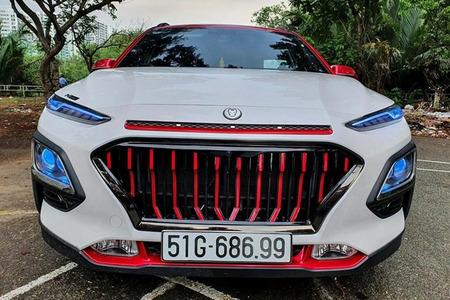 Độ mặt Calang thay đổi diện mạo cho xe ô tô - Phụ kiện xe ô tô - Hình 7