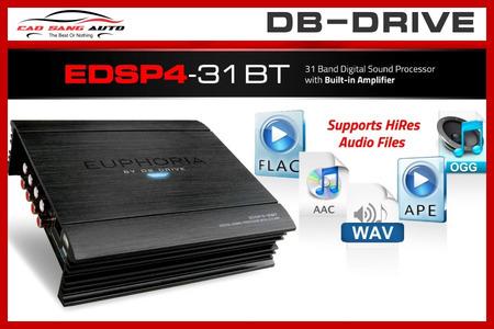 DSP EDSP4-31BT - DB DRIVE TÍCH HỢP AMPLI 4 KÊNH