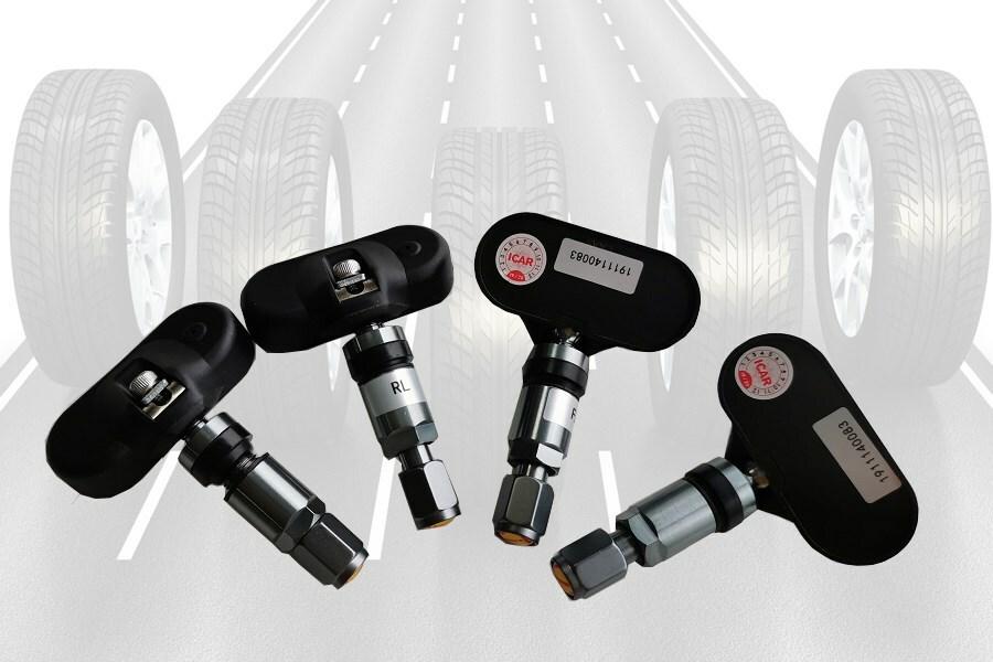 Hệ thống Cảm biến áp suất lốp TN405 có màn hình năng lượng mặt trời - Hình 4