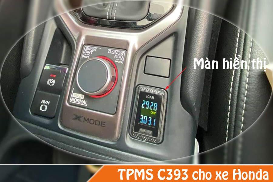 Hình ảnh thực tế cảm biến áp suất lốp xe Honda C393 cho xe Subaru
