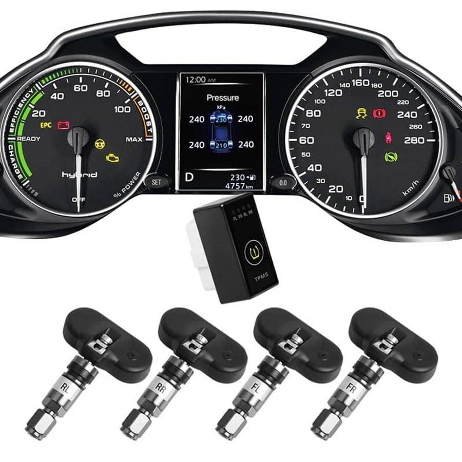 Hệ thống cảm biến cảnh báo áp suất lốp i Serials theo xe Ellisafe i1X (màn ODO)