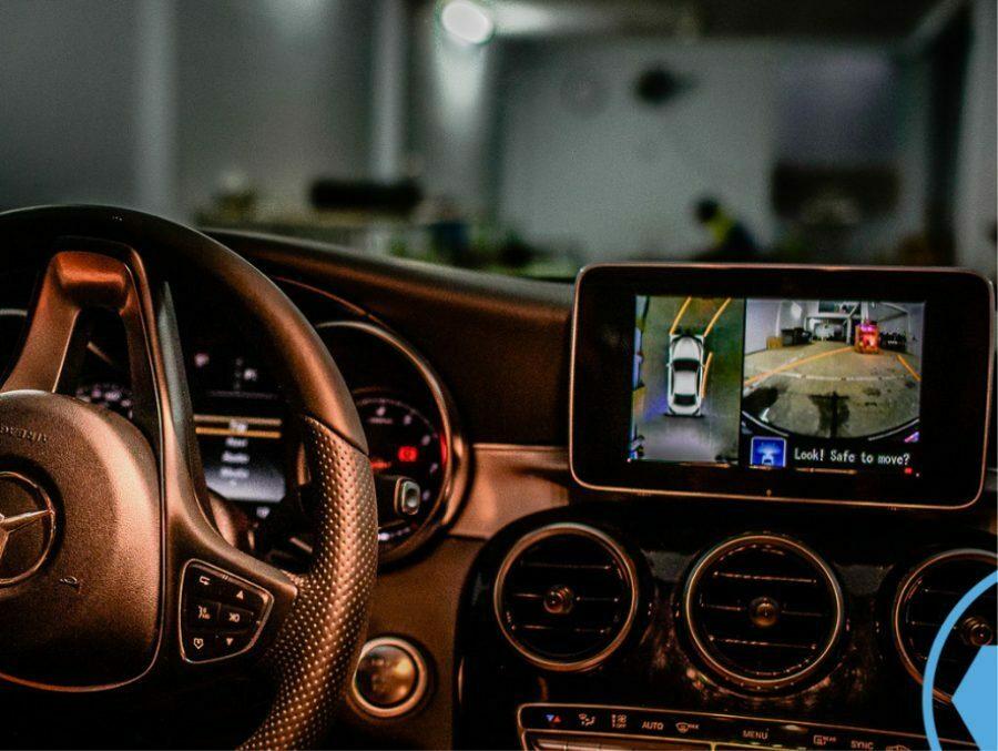 Camera 360 tích hợp camera hành trình