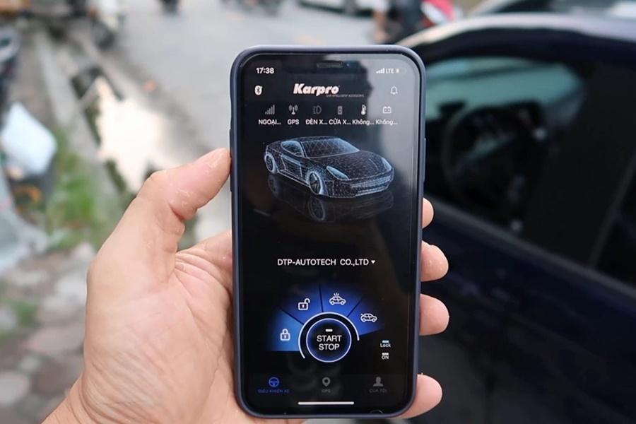 Có thể kết nối Smartkey Karpro với Smartphone
