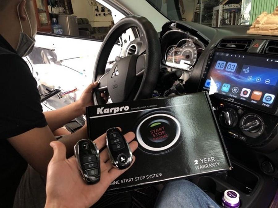 Lắp đặt Smartkey cho xe ô tô