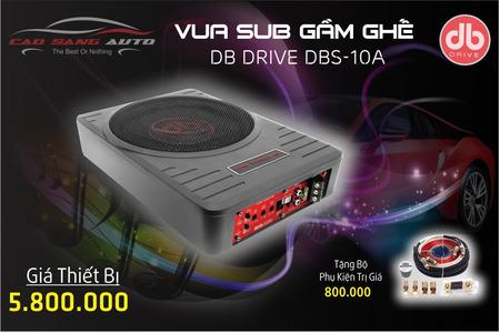 SUB GẦM GHẾ DBS 10A - DB Drive - USA