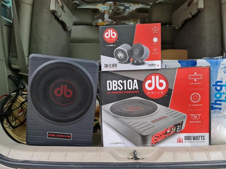 Loa siêu trầm DBS 10A DB Drive 880Watts Peak chất lượng cao