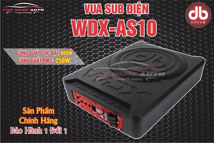VUA SUB ĐIỆN WDX-AS10 DB DRIVE