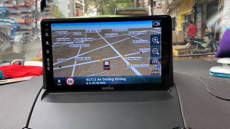 Định vị GPS siêu chuẩn và hỗ trợ an toàn tuyệt đối khi lái xe
