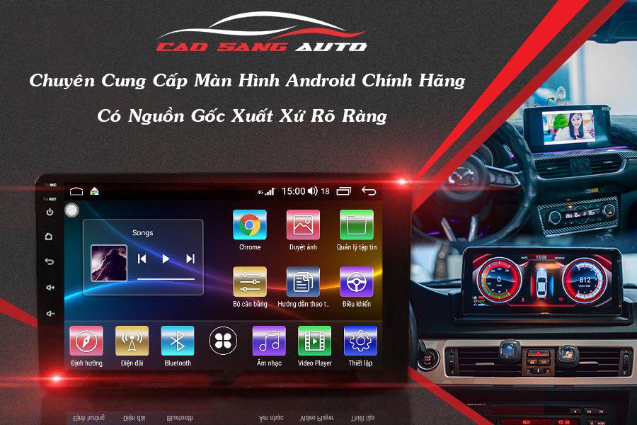 Tại sao nên lắp màn hình Android Kovar cho ô tô tại Cao Sang Auto?
