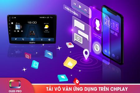 Màn hình DVD Android OLED C2 - Hình 3