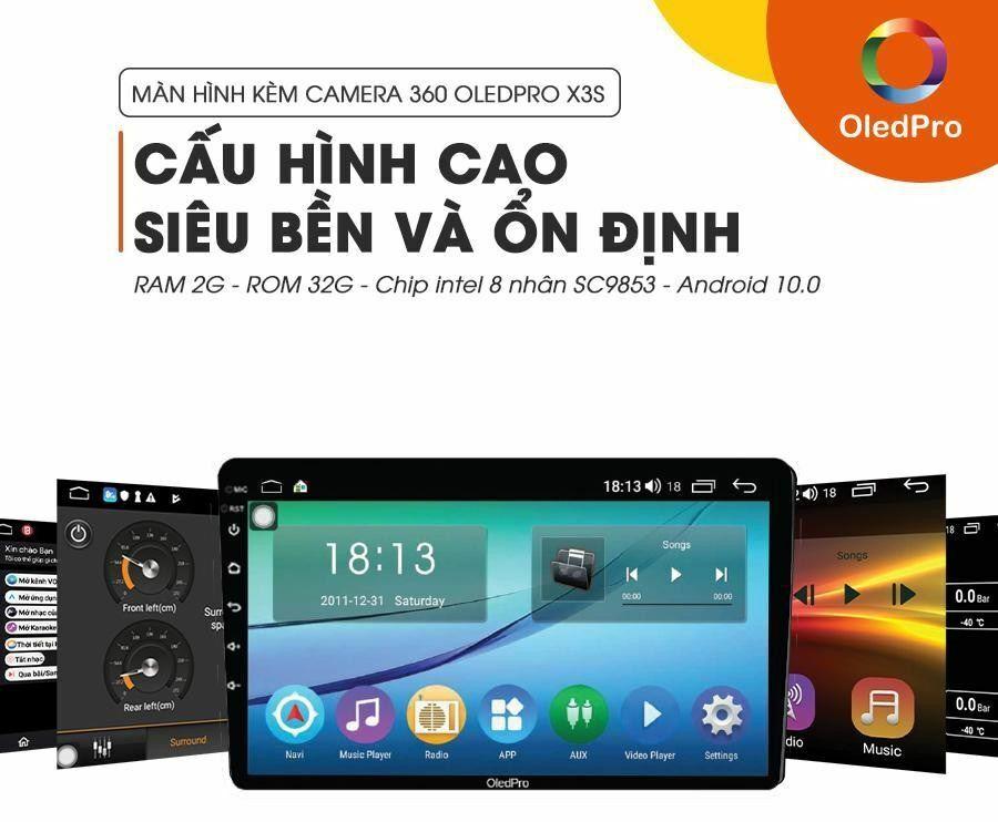 Cấu hình màn hình Android Oled khủng
