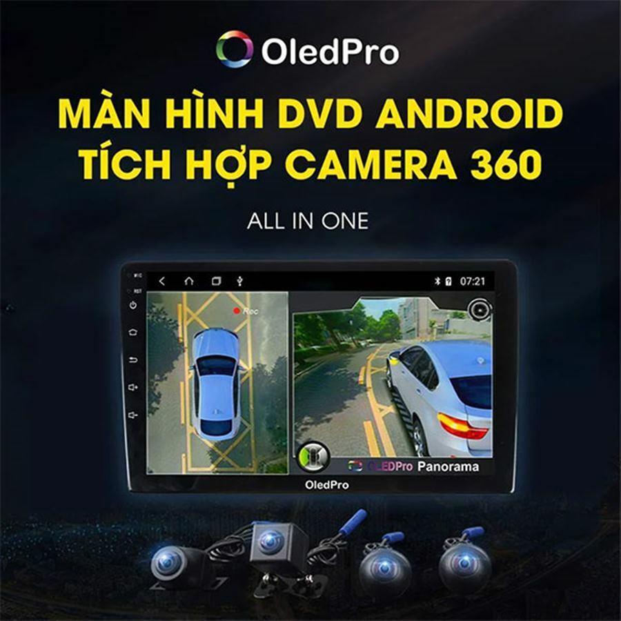 Màn hình DVD Android tích hợp camera 360