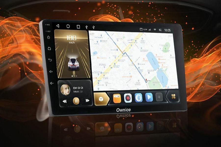 Màn hình ô tô tích hợp với GPS