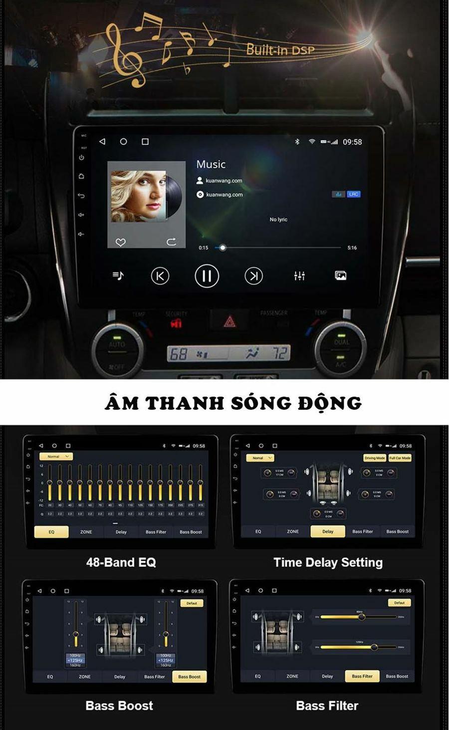 Khả năng xử lý âm thanh tuyệt vời