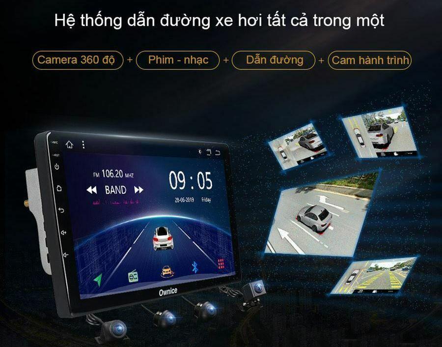 Màn hình DVD Android Ownice đang là người bạn đồng hành được rất nhiều cho xe lựa chọn