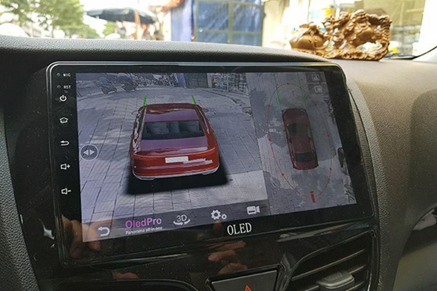 Màn hình DVD Android tích hợp camera 360 Oled C8s New - Hình 1