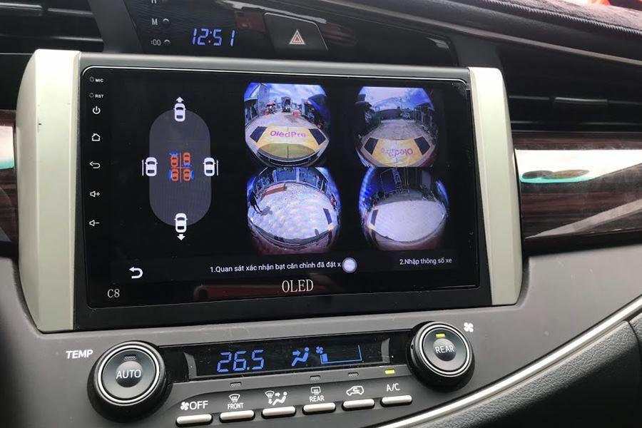 Màn hình DVD Android tích hợp camera 360 Oled C8s New - Hình 2