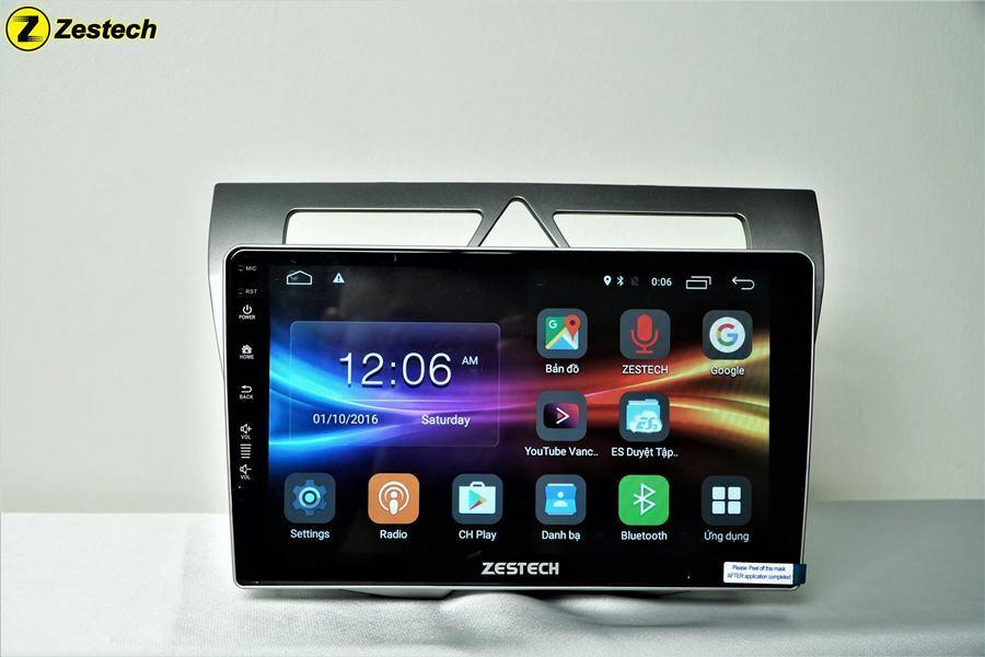 Màn hình DVD Android Zestech được đánh giá rất cao về chất lượng.