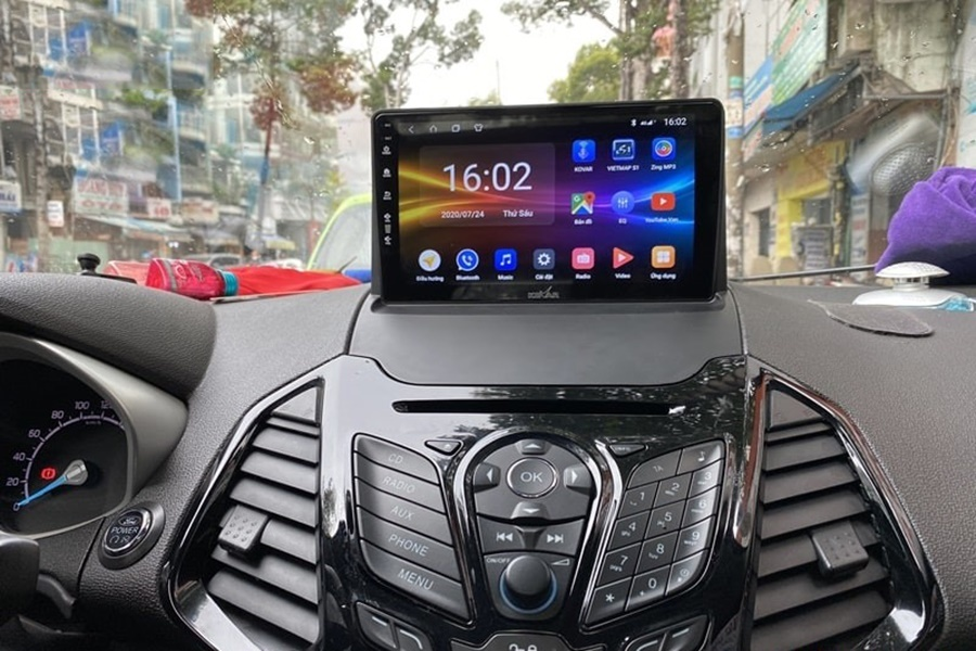 Cần tìm địa chỉ lắp đặt màn hình Kovar bản T1 uy tín tại TP.HCM hãy đến Cao Sang Auto
