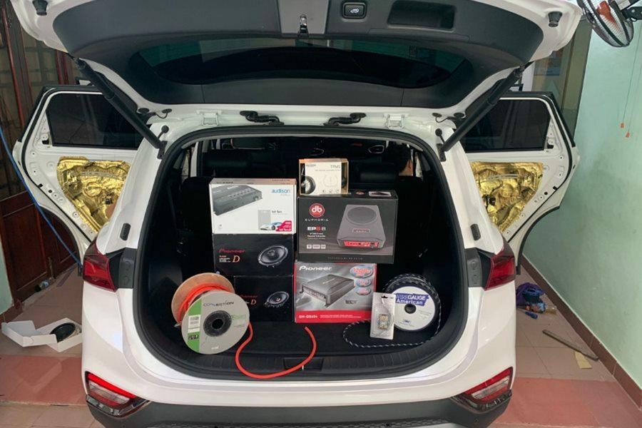 Nâng cấp hệ thống âm thanh Pioneer 7 loa cho Huyndai Santafe/Tucson 2020 - Hình 1