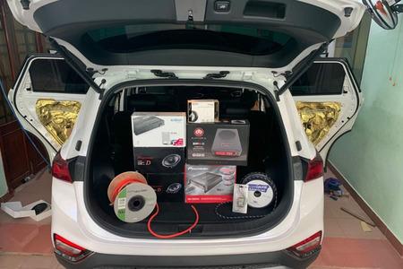 Nâng cấp hệ thống âm thanh Pioneer 7 loa cho Huyndai Santafe/Tucson 2020