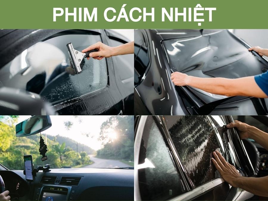 Dán phim cách nhiệt cho xe thực sự rất cần thiết