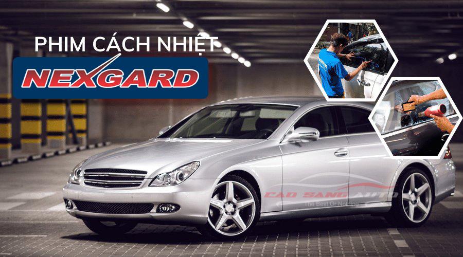 Dán phim cách nhiệt NEXGARD cho xe ô tô