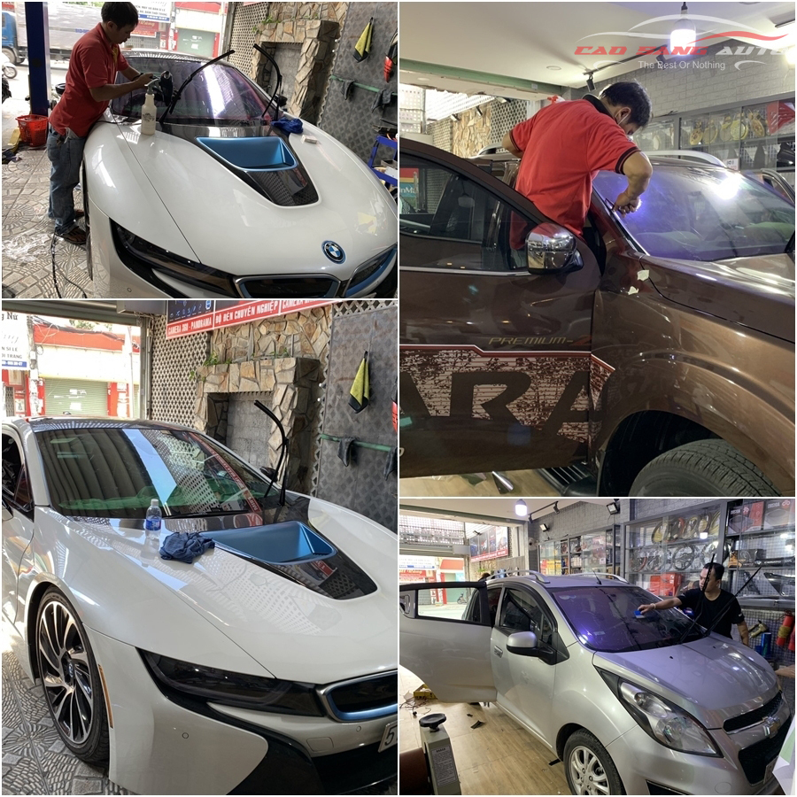 Cửa hàng Cao Sang Auto chuyên dán phim cách nhiệt cho xe hơi - ô tô uy tín tại TPHCM