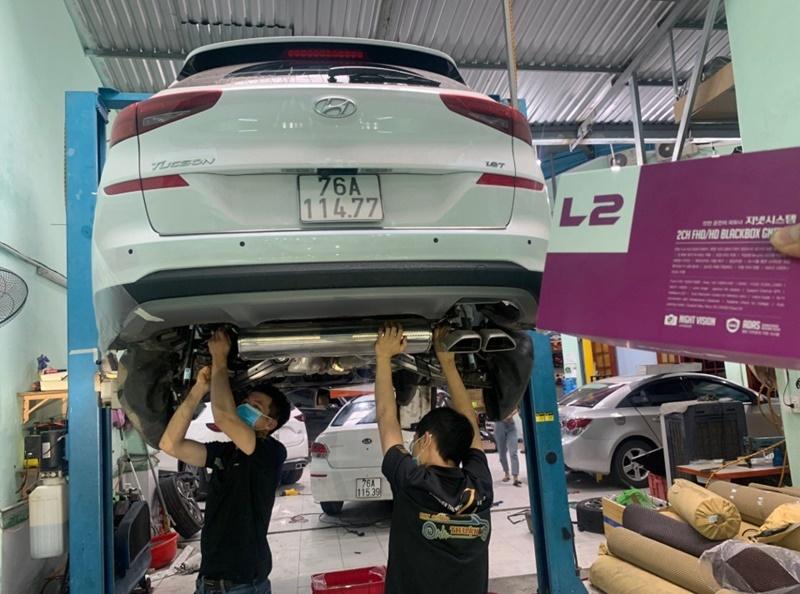 Phủ gầm chống gỉ - giảm ồn tại Cao Sang Auto
