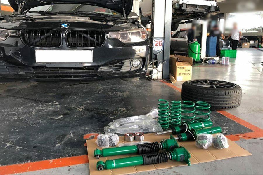 Phuộc nhún BMW 320i - Hình 1