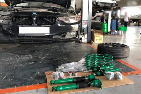Phuộc nhún BMW 320i